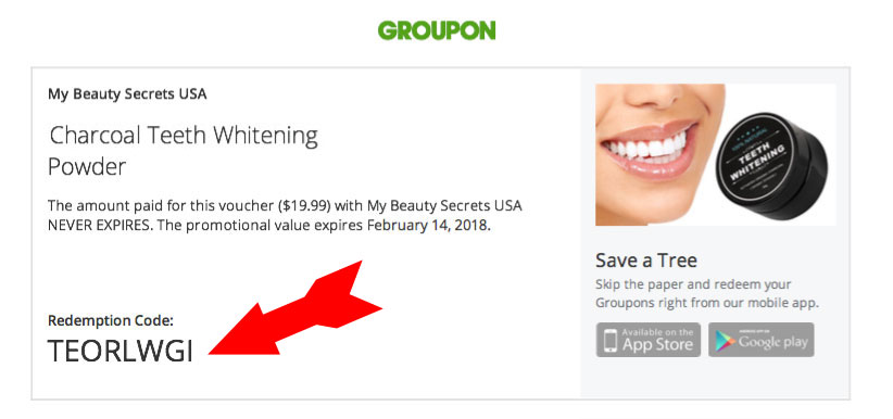 Redeem Your Groupon Purchase – My Beauty Secrets USA